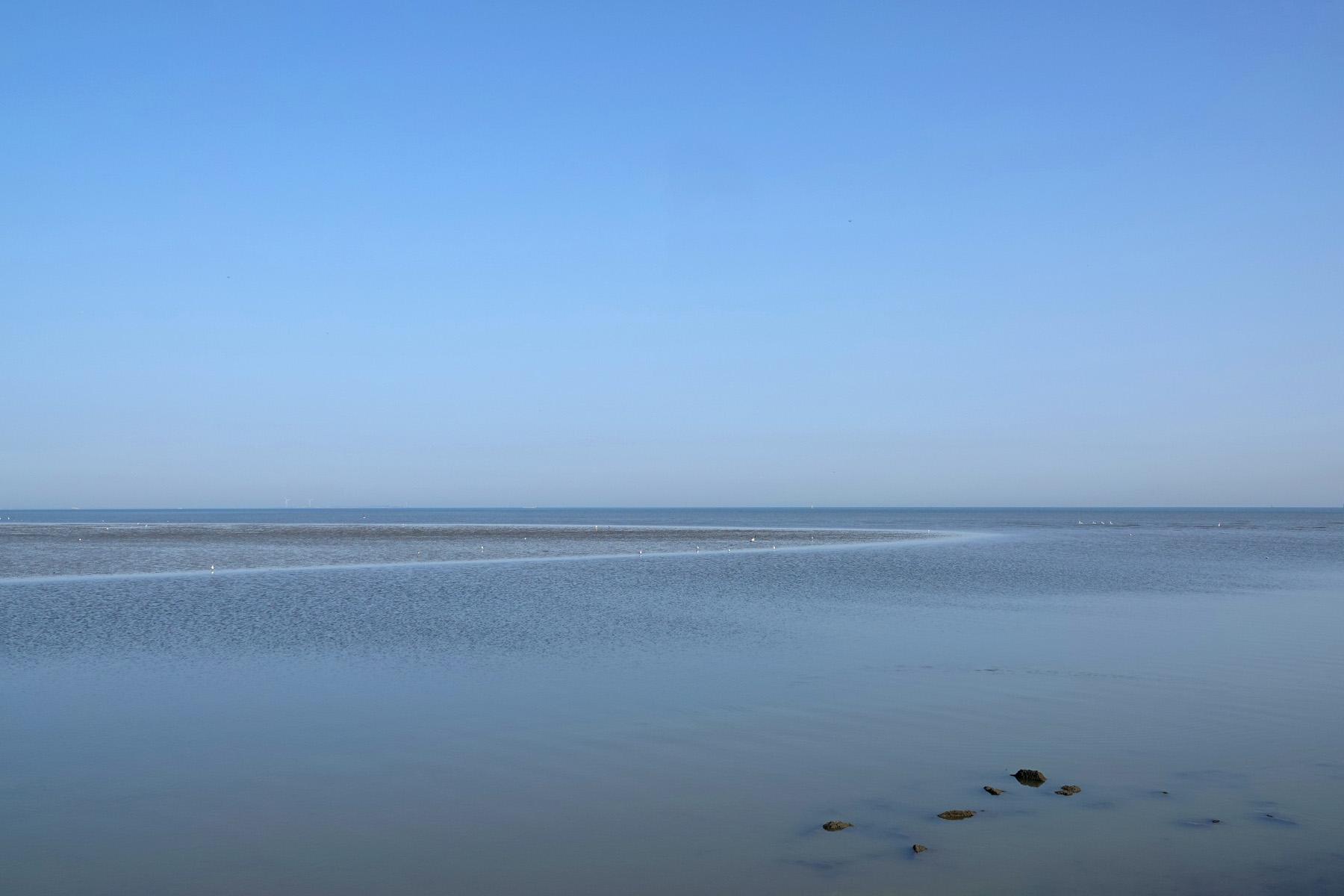 Waddenzee bij Rommelhoek